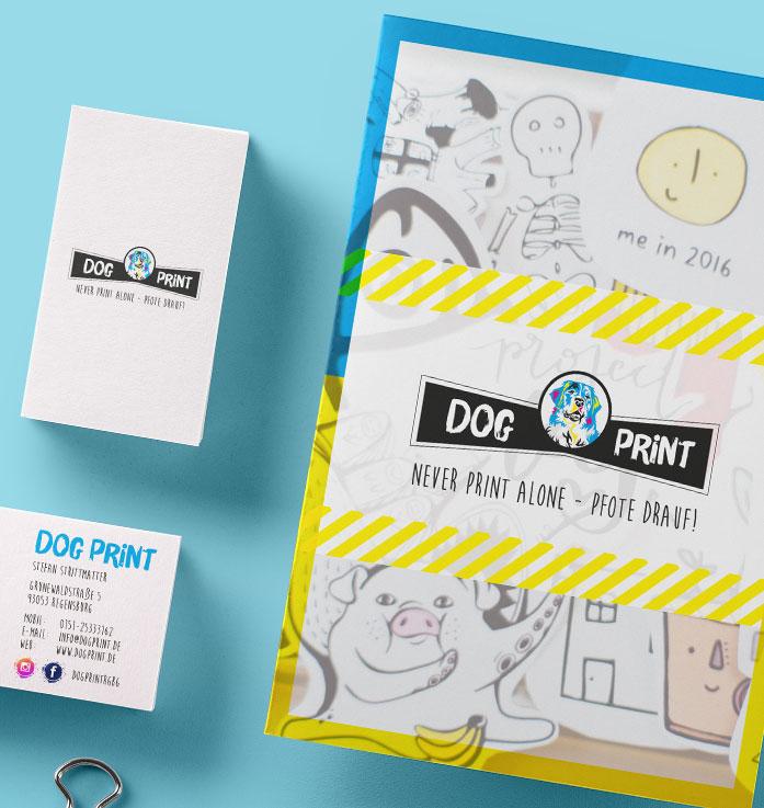 Druck Dogprint